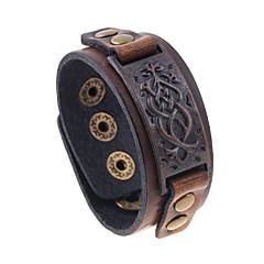 Muškarci Koža Narukvice Jewelry Nature Moda Koža Legura Jewelry Za Special Occasion Sport
