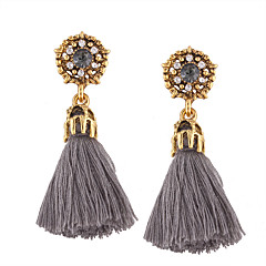 Women's Drop Earrings Jewelry Tassel Fashion Bohemian Personalized Euramerican Costume Jewelry Cotton Alloy Irregular Jewelry For Wedding