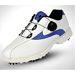נעלי גולף בגדי ריקוד גברים גולף ספורט חוץ הצגה אימון ספורט פנאי סגנון אמנותי מסוגנן עור גרעיני גומי