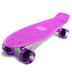A Stufe ABS Kinder Erwachsene Standard-Skateboards 22 Zoll Berufs ABEC-7-Weiß Gelb