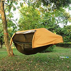 1人 テント シングル 折り畳みテント 1つのルーム キャンプテント 1500-2000 mm テリレン 防水 防塵 耐摩耗性 テント-キャンピング&ハイキング ハイキング 屋外-