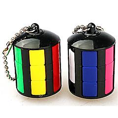 Rubikin kuutio Tasainen nopeus Cube Lievittää stressiä Rubikin kuutio Avainketju Muovit