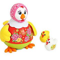 Brinquedos de Corda Galinha Brinquedos Plásticos Não Especificado 1-3 anos