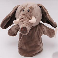 Fingerpuppe Elefant Baumwolle Kleidung