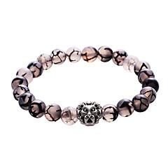 Heren Strand Armbanden Sieraden Hart Elegant Aanbiddelijk Luxe Sieraden Klassiek Turkoois Legering Cirkelvorm Sieraden VoorFeest Formeel