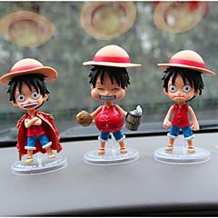 Diy ornamentos automotivos personagens de desenho animado piratas pendente 3 carro&Ornamentos de cristal de jade