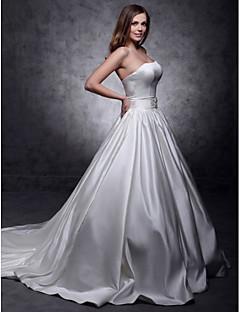 Lanting Bride Ball Gown / Princess Petite / Plus Sizes / Rectangle Wedding Dress
