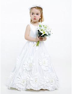 HAUKEA - Kleid für Blumenmädchen aus Tafft
