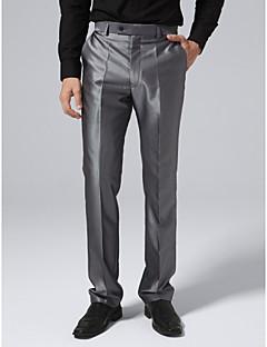 terno calças cinzentas de aço