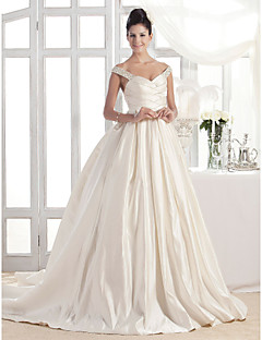 Lanting Bride® A-line / Princess Apple / Hourglass / Inverted Triangle / Misses / Pear / Petite / Plus Sizes / Rectangle Wedding Dress -