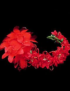 Women's Satin Imitation Pearl Paper Headpiece-Wedding Special Occasion Headbands Flowers