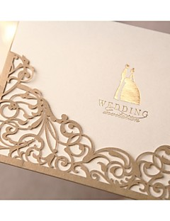 Niet-gepersonaliseerde Wikkelen & Verpakking Uitnodigingen van het Huwelijk Uitnodigingskaarten-50 Stuk/SetFormele Stijl / Klassieke