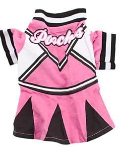 Стильное платье для собак (розовый, разные размеры)