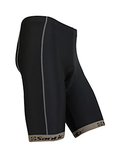 SANTIC Cykelshorts med indlæg Herre Cykel Hurtigtørrende Shorts Underdele Polyester Ensfarvet Forår Sommer Cykling/Cykel