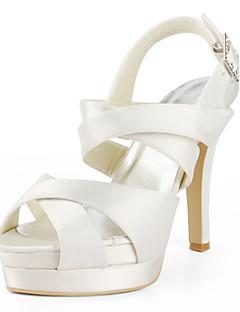 סנדלים - נשים - נעלי חתונה - רצועה אחורית - חתונה - שחור / ורוד / אדום / שנהב / לבן / כסוף / זהב