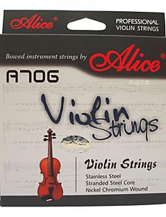 Alice - (A706) Steel Core Violin Strings