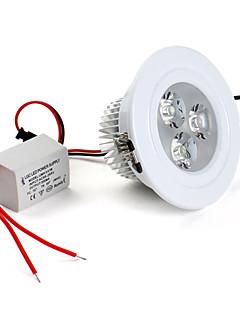 Lampes Encastrées / Plafonniers Blanc Naturel Encastrée Moderne 3 W 3 LED Haute Puissance 280 LM AC 85-265 V