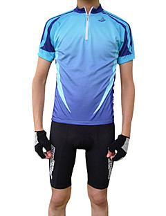 JAGGAD® Cycling Jersey Men's Short Sleeve Bike Breathable / Quick Dry Jersey / Tops Polyester Spring / Summer Cycling/Bike