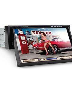 """7 """"1 DIN-LCD-Touchscreen im Armaturenbrett Auto-DVD-Spieler mit Bluetooth, iPod, Stereo-Radio, RDS, ATV + freien hinteren viwe Kamera"""