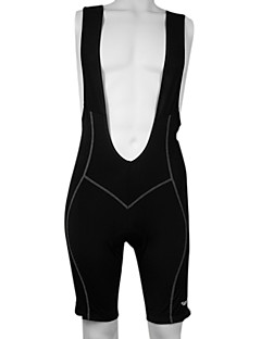 KOOPLUS® Cycling Bib Shorts Men's Bike Breathable / Quick Dry / Reflective Strips / 3D Pad Bib Shorts / Shorts / Bottoms 100% Polyester