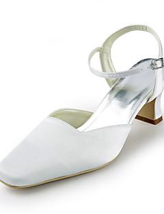 Wedding Shoes - Sandálias - Saltos - Preto / Azul / Rosa / Vermelho / Marfim / Branco / Prateado - Feminino - Casamento