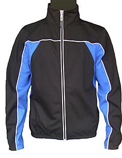JAGGAD® Sykkeljakke Herre Langt Erme Bike Vindtett / Anvendelig Jakke / Vindjakker / Topper Polyester / Coolmax Høst / Vinter