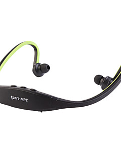cuffia neckband sport supporto wireless scheda tf con radio FM per media player (colori assortiti)