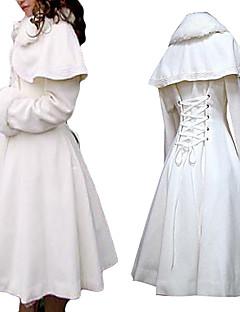 Long Sleeve White Velvet Princess Lolita Coat