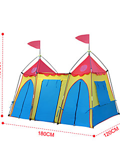 CAMPPAL-CT004 Castle-Design Folding Tent For Children
