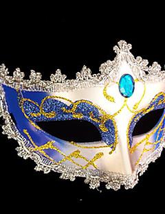 Jewel Silber Eye Shadow Plastic Half-Gesichtsmaske