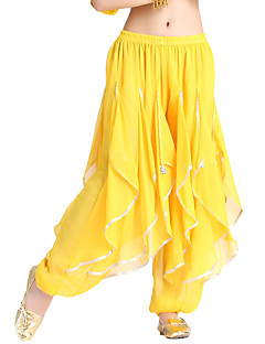 Ballroom Dancewear Chiffon Belly Dance Bottom For Ladies More Colors