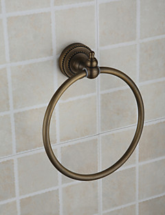 Oil Rubbed Bronze Round Towel Ring