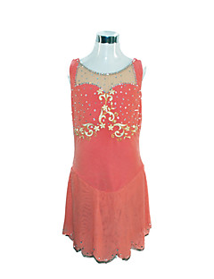 Girl's Figure Fabrics Skating Dress (Red)