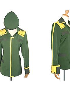 Inspired by Suzumiya Haruhi Itsuki Koizumi Anime Cosplay Costumes Cosplay Tops/Bottoms Patchwork Green Long Sleeve Coat / Hat