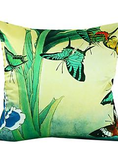 papillon soie taie d'oreiller décoratif pays