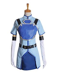 traje cosplay inspirado pela espada de arte online sachi