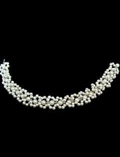 Women's Imitation Pearl Headpiece-Wedding Special Occasion Headbands