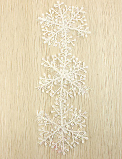 Snowflake Julepynt (sæt med 3 stykker)