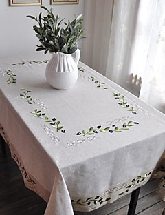 Classic White lin Olive Branch Nappes