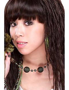 Sin tapón sintético de alta calidad a largo ondulado Light Brown Hair Wigs