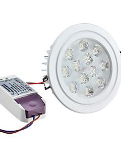 Lampes Encastrées / Plafonniers Gradable Blanc Naturel Encastrée Moderne 12 W 12 LED Haute Puissance 1080 LM AC 100-240 V