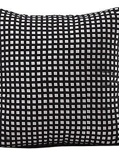 Preto moderno geométrica Poliéster fronha decorativa