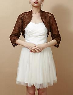 3/4 Sleeve Lace Evening/Wedding Wrap/Evening Jacket (More Colors) Bolero Shrug