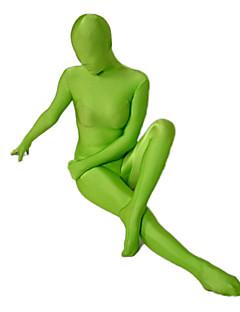 Zentai kombinézy Ninja Zentai Cosplay kostýmy Zelená Jednobarevné Leotard/Kostýmový overal / Zentai Lycra a elastan UnisexHalloween /