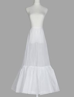 Nylon A-Line Gown 2 Tier Floor-length Slip Style/Wedding Petticoats
