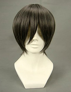 Cosplay Wigs Black Butler Ciel Phantomhive Brown Short Anime Cosplay Wigs 32 CM Heat Resistant Fiber Male
