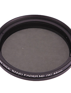 Fotga 43mm Slim Fader ND Filter Justerbar Variable Neutral Density ND2 til ND400