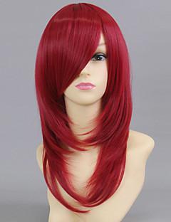 Косплэй парики Косплей Esther Blanchett Красный Средний Аниме Косплэй парики 50 CM Термостойкое волокно Женский