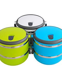 portable 2-Tier Isolierung bento Lunchbox (farblich sortiert)