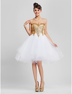 TS Couture® Cocktail Party / Homecoming / Prom / Sweet 16 Dress - Sparkle & Shine Plus Size / Petite A-line / Ball Gown / PrincessStrapless /